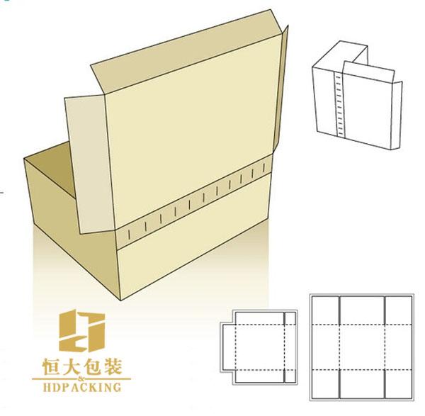包装盒设计展开图图片